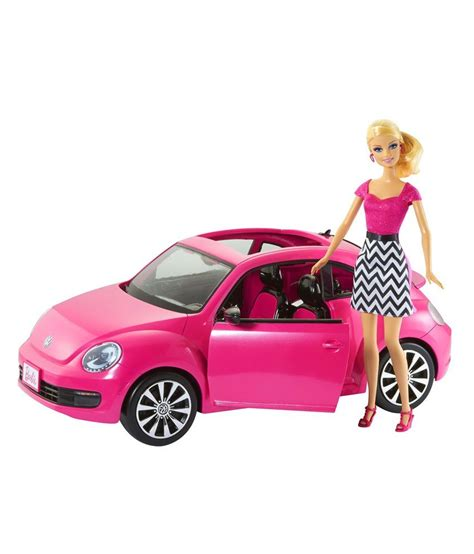 barbie volkswagen barbie doll and new vw beetle vehicle fashion doll