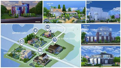 House Builder Game fill up newcrest with these houses and venues sims online