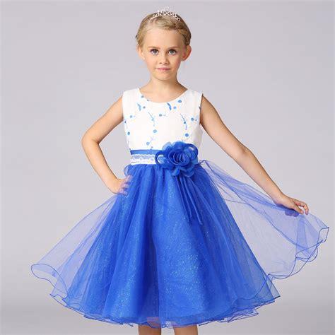 Rk01c2 Royal Pj Princess 8t 12t kinderen jurken voor meisjes bruiloft prinses jurk verjaardag kleding zuigeling bloem jurk