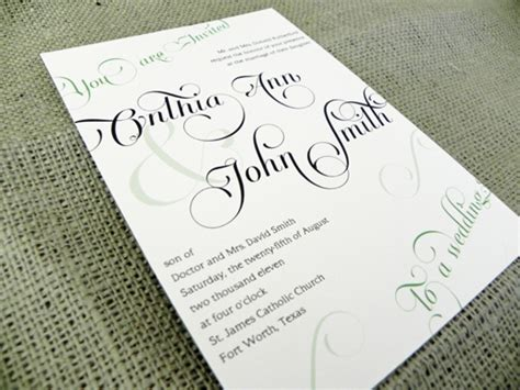 what wedding invitations should say 5 what should wedding invitations say invitations hub