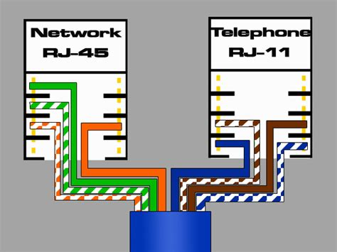 wiring diagram rj45 to rj11 wiring diagram with description
