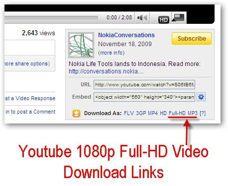 full hd video youtube download cool tips n tricks youtube introduces 1080p full hd