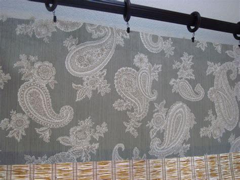 Silver Gray Valances Valance P Kaufmann Chelsea Silver Grey Paisley Modern Kitchen