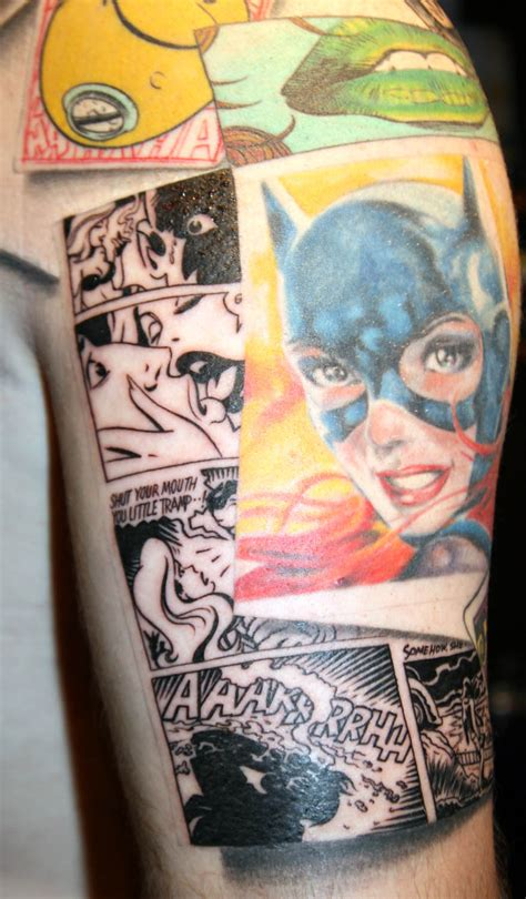 batman tattoo sleeve by carlyshephard on deviantart
