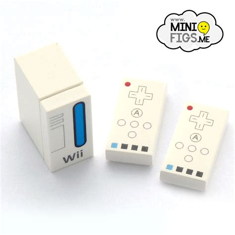 wii 2 console wii console and 2 controllers custom designed tile