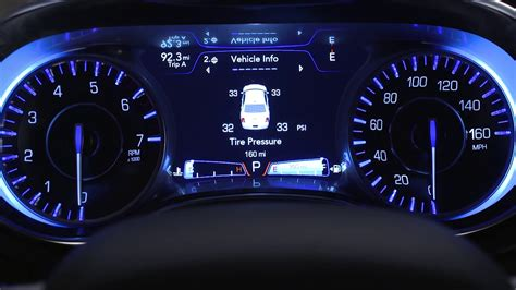 Cars With Digital Dashboards by Instrument Cluster Display Digital Dashboard On The Car