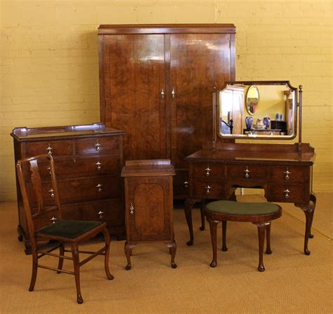 Edwardian Bedroom Furniture | edwardian oak bedroom suite c 1910 antiques atlas