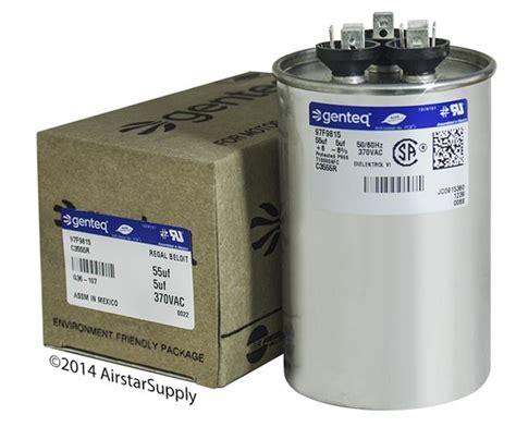 ge capacitor z97f9895 ge dual capacitor 97f9839 28 images ge genteq capacitor dual run 35 5 uf mfd 440 volt vac