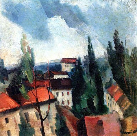 andre derain roofs of roofs maurice de vlaminck was a painter