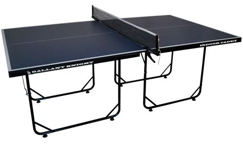 indoor table tennis table cadet 3 4 sized indoor table tennis tables