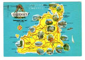 travel map of maps of guernsey detailed map of guernsey in