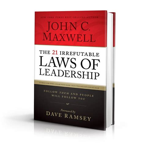 the 21 irrefutable laws of leadership audiobook by john c maxwell