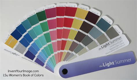 Light Summer Color Palette by Light Summer Book Of Color Invent Your Image