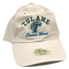 tulane hats on script logo logo and embroidery