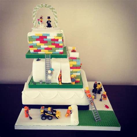 Hochzeitstorte Lego by Lego Wedding Cake