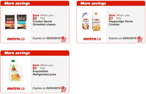 printable grocery coupons quebec metro canada quebec exclusive printable coupons february
