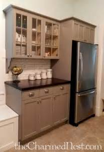 kitchen cabinet painted 25 best ideas about chalk paint cabinets on pinterest