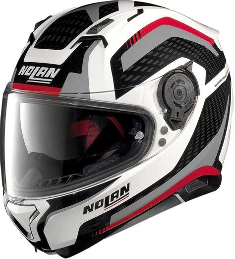 Helm Nolan Helmet nolan n64 stoner nolan n87 arkad n helmet motorcycle helmets accessories white