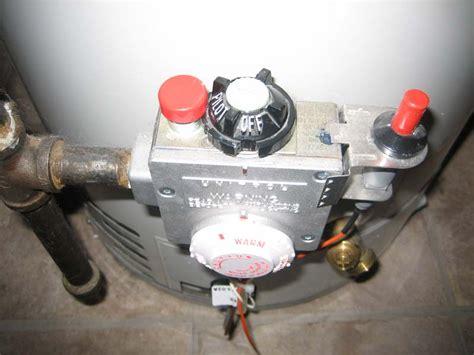 water heater pilot light water heater on pilot home improvement stack exchange