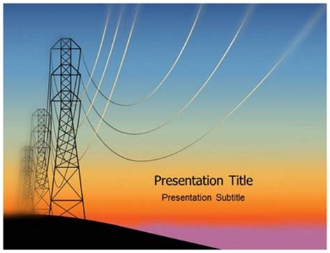 powerpoint themes electricity electricity background powerpoint www pixshark com