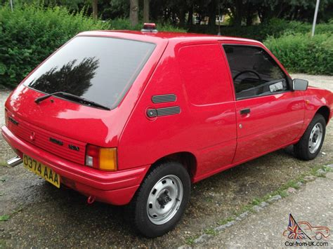 car make peugeot classic 1986 peugeot 205 xa van 41 000 extremley good