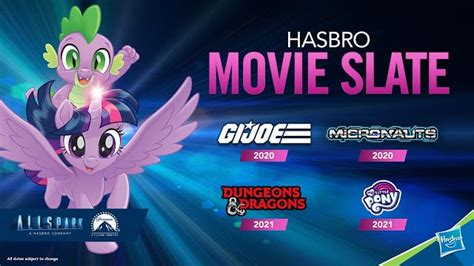 pony joins hasbros allspark pictures slate