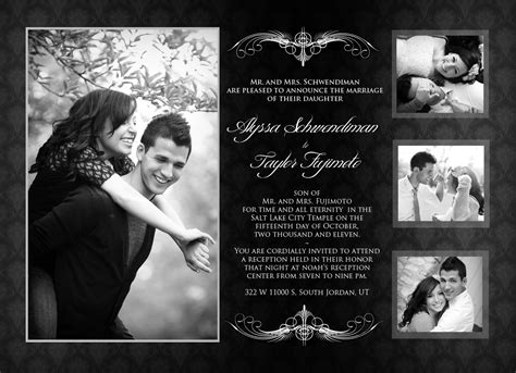 Wedding Announcements With Photos by Fujimoto Wedding Announcements