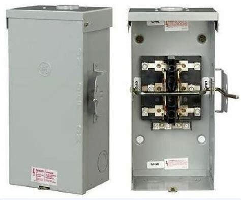 Tc10324r Ge Manual Double Throw Transfer Switch 200a Amp