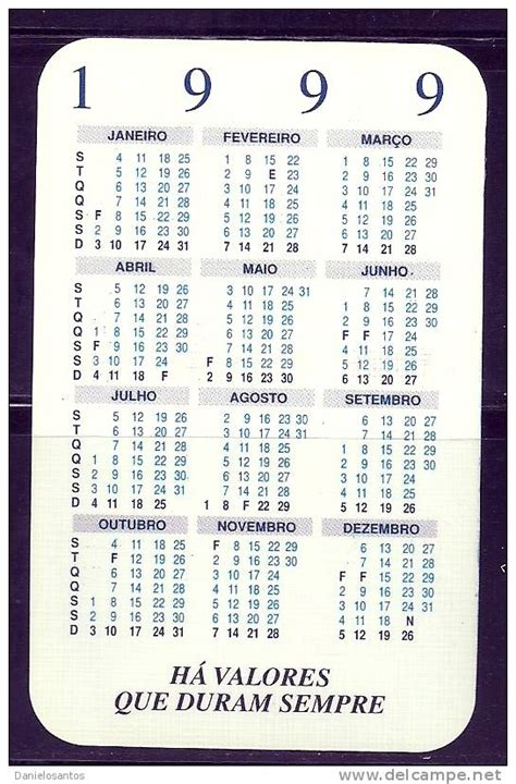 Calendario De 1999 Calendario 1999 Images Search