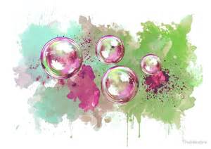 Galaxy Print Duvet Quot Watercolor Soap Bubble Painting Quot By Thubakabra Redbubble