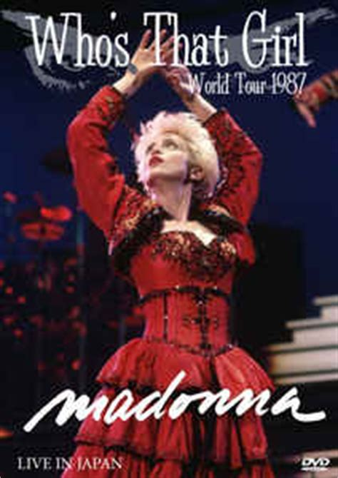 dvd format in japan madonna who s that girl world tour 1987 live in