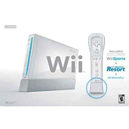 wii sport console refurbished nintendo wii console white with wii sports and