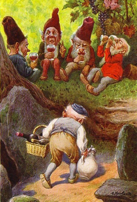 gnome art   elves fantasy paintings beautiful