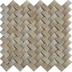 Basketweave Tile Backsplash - baden bath travertine basketweave mosaic tile box of 5 sq feet free shipping today