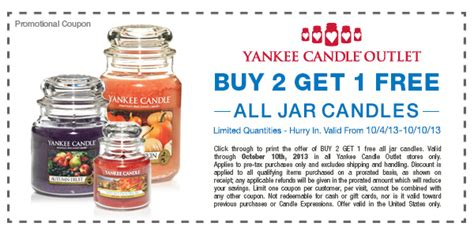 printable coupons yankee candle outlet yankee candle outlet b2g1 free printable coupon