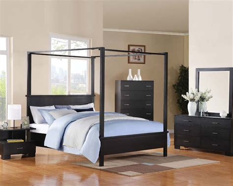 london bedroom set acme canopy bedroom set london ac20050set