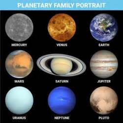what colors are the planets true color photos of all the planets