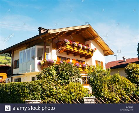 buy house in austria austria kitzbuhel europe typical austrian wooden house home in stock photo royalty