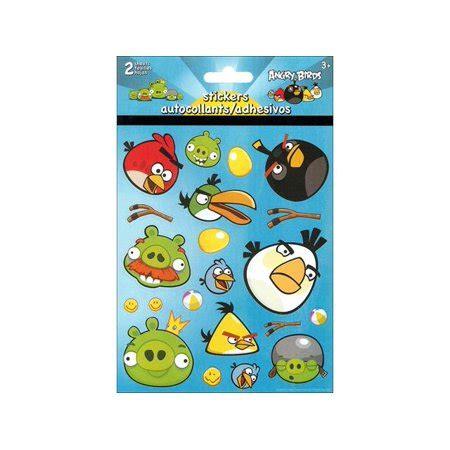 Stiker Ac Angry Bird sandylion angry birds sticker foldover walmart