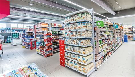 Scaffali Per Negozi Alimentari by Scaffalature Supermercati E Arredamento Negozi Alimentari