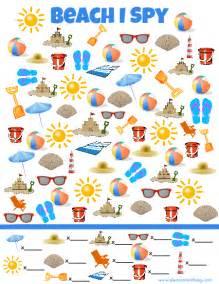 beach spy game simple play ideas