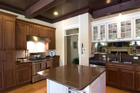 white and brown kitchen cabinets 63 beautiful traditional kitchen designs designing idea