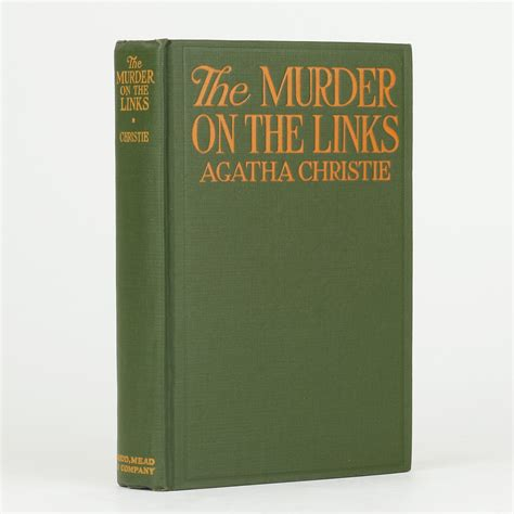 0008129460 the murder on the links the murder on the links by christie agatha jonkers rare