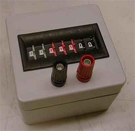 resistor test box decaderesistor