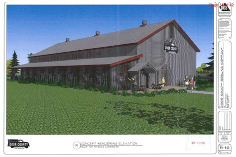 The Clearing Door County by Committee Oks Brewery Expansion And Tree Plantation