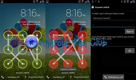 lock pattern in android programmatically how to reset pattern lock on android after more than 5