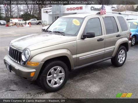 2005 Jeep Liberty Limited Light Khaki Metallic 2005 Jeep Liberty Limited 4x4