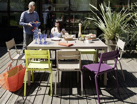 mobilier jardin fermob mobilier d ext 233 rieur en aluminium et en couleurs ol 233 fermob us fauteuils