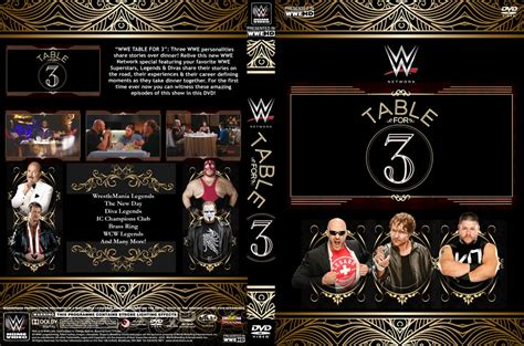 wwe table for 3 wwe table for 3 dvd cover by chirantha on deviantart