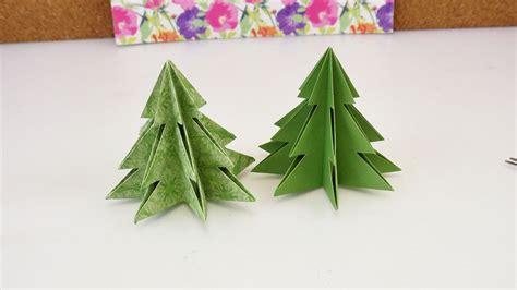 origami f 252 r weihnachten diy tannenbaum selber machen